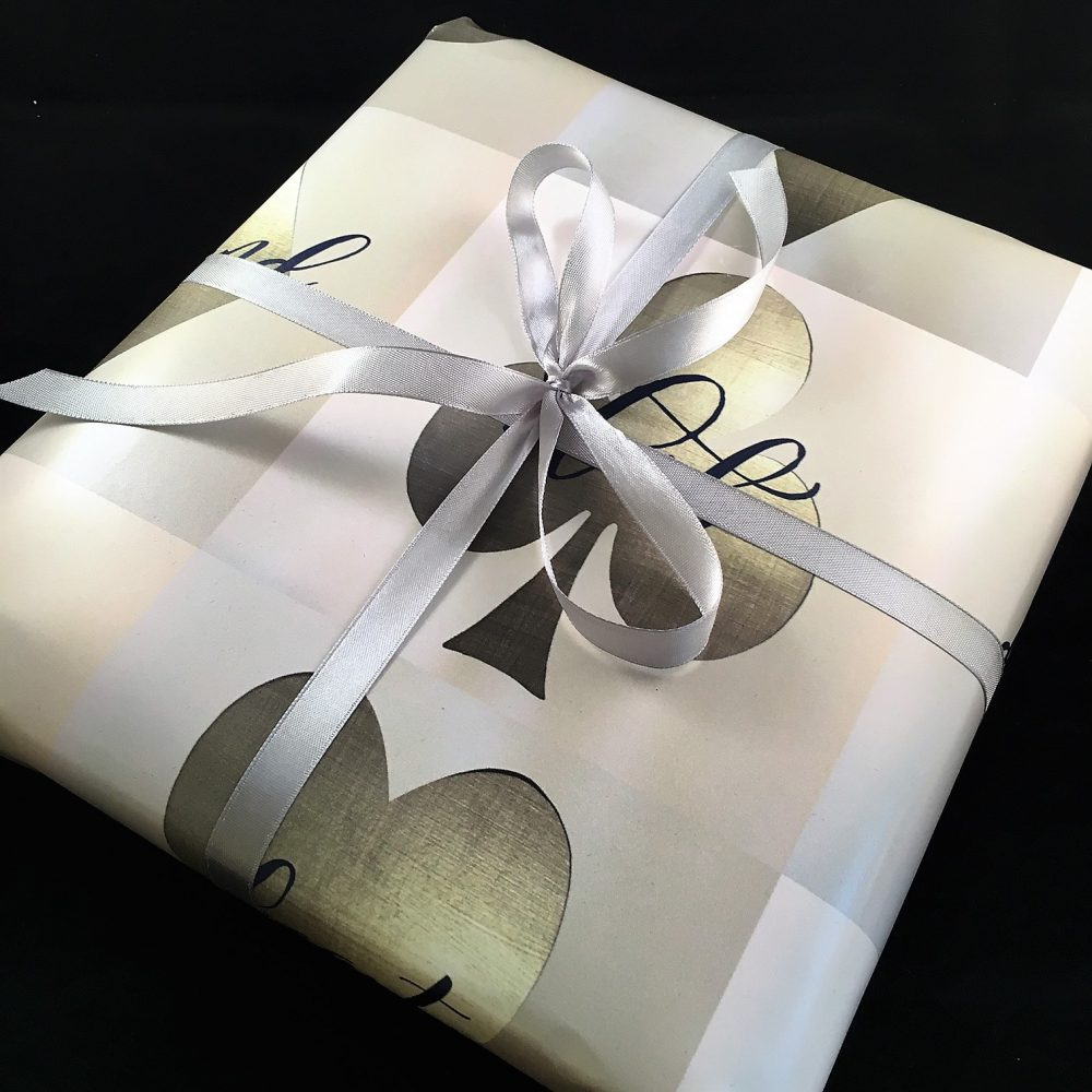 Picture of a gift wrapped order