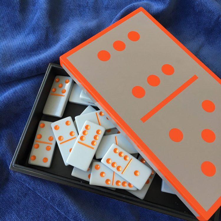 Orange Domino Set